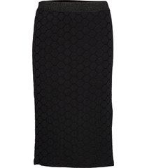 skirt knälång kjol svart sofie schnoor