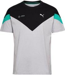 mapm mcs tee t-shirts short-sleeved silver puma