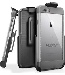 """belt clip holster for lifeproof nuud case - iphone 7 (4.7"""") by encased (case sol"""