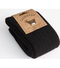 cashmere blend ladies' socks black