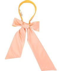 eugenia kim tamara bow-tie headband - pink
