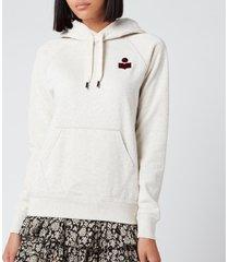 isabel marant étoile women's malibu sweatshirt - ecru - fr 34/uk 6