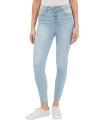 jeans legging ankle tiro alto mujer celeste gap