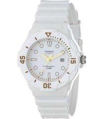 reloj casio lrw_200h_7e2v blanco resina