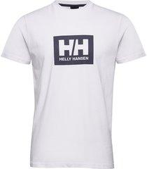 hh box t t-shirts short-sleeved vit helly hansen