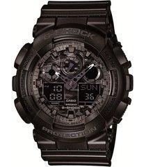 relógio g-shock analógico ga-100cf