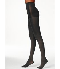 hue women's super control top opaque tights
