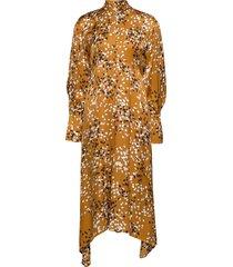 kin jurk knielengte geel dagmar