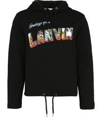 lanvin cotton hoodie