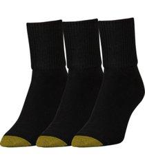 goldtoe women's 3-pk. extended bermuda socks