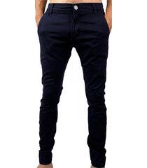 pantalón azul buxter chino