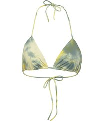 merle swimwear bikinis bikini tops triangle bikinitops grön rabens sal r