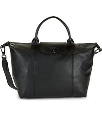 le pliage cuir small satchel