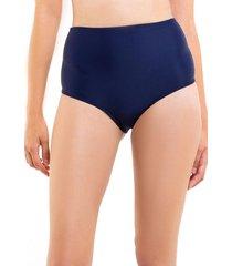 bikini calzón pin up tanga azul marino samia