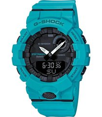 reloj g shock gba-800-2a2dr azul resina