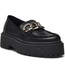 biadeb chain loafer loafers låga skor svart bianco