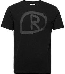 ace t-shirt t-shirts short-sleeved zwart wood wood