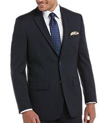 pronto uomo platinum executive suit separates coat navy sharkskin
