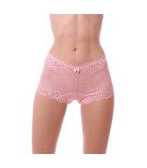 calcinha simony lingerie caleçon renda rosa