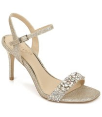 jewel badgley mischka natasha evening dress sandal women's shoes