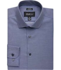 awearness kenneth cole navy stripe extreme slim fit dress shirt