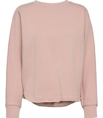 edda sweat-shirt tröja rosa rabens sal r