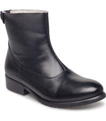boots shoes boots ankle boots ankle boots flat heel svart carla f
