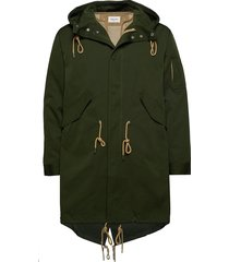 william parka coat parka jas groen wood wood