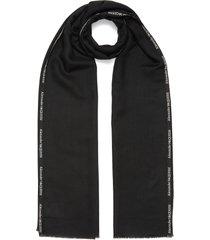 logo trim scarf