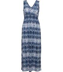 framselfa 2 dress maxiklänning festklänning blå fransa