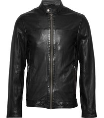leather jacket leren jack leren jas zwart lindbergh