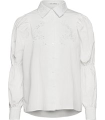 shirt långärmad skjorta vit sofie schnoor