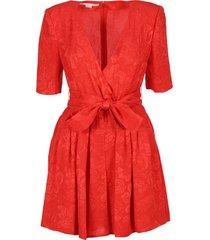 stella mccartney wrap playsuit