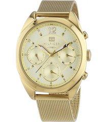 reloj tommy hilfiger 1781488 dorado -superbrands