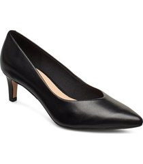 laina55 court shoes heels pumps classic svart clarks