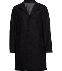 wool cashmere blend wollen jas lange jas grijs calvin klein