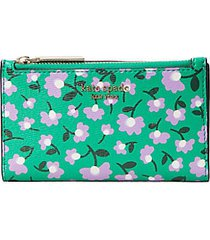 spencer party floral small slim bifold wallet