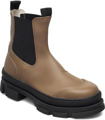 wave shoes boots ankle boots ankle boot - flat beige pavement