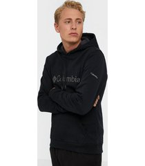 columbia csc basic logo ii hoodie tröjor black