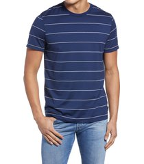 men's ag bryce stripe t-shirt, size x-large - blue/green