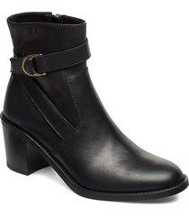 miran shoes boots ankle boots ankle boots with heel svart l.k.bennett