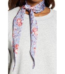 treasure & bond print kite scarf in blue georgia rose at nordstrom