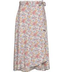 rose wrap skirt rok knielengte multi/patroon lexington clothing