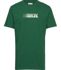 sami graphic t-shirt t-shirts short-sleeved grön wood wood