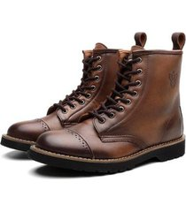 bota coturno black boots london masculina