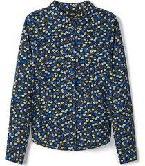hemd blumenprint