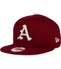 new era arkansas razorbacks core 9fifty snapback cap
