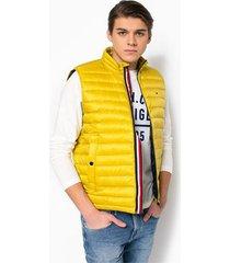 chaleco amarillo tommy hilfiger lw packable down vest