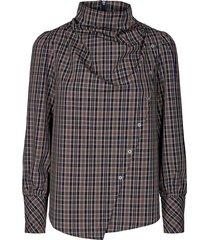 scot neckerchief blouse