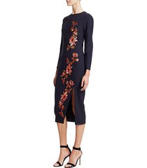 lexi embroidered floral dress